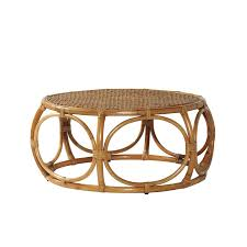 round rattan coffee table glass top elsa serena lily for the home b5748361d27ef8a88673b498897 round rattan