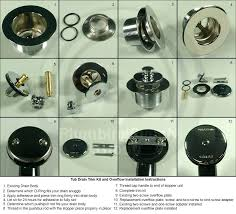 replacing drain in tub universal tub drain trim kits replace bathtub drain stopper lever