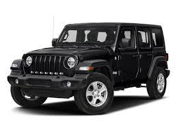 2018 black clearcoat jeep wrangler unlimited sahara 4 door automatic 4x4