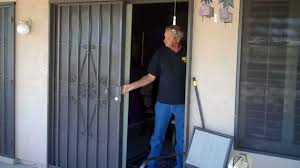 Sliding Patio Security Doors by Day Star Screens 480-986-286 - YouTube