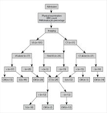 Schematic Representation Of The Diagnostic Flow Diagram Wbc