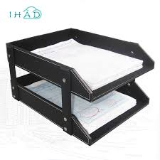 office file boxes. High-grade PU Leather File Box Office Record Holder Desktop Cabinet  Stationery Organizer Container Boxes