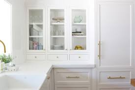 how to style glass cabinets studio mcgee