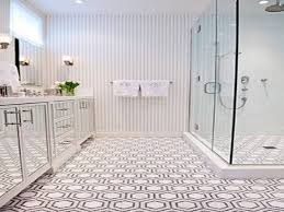 Mosaic Bathroom Floor Tile Penny Tile Bathroom Floor Home Design Website Ideas