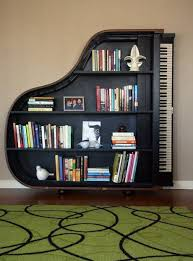 You'll never want a regular book shelf again after you see this #music