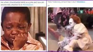 TikTok Down grappige memes en grappen ...