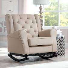 toddler upholstered rocking chair ideas