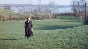 gabrielle roy walking on the plains of abraham quebec city circa 1956