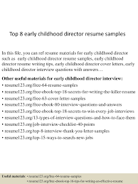 early childhood education resume samples essay breathtaking early early childhood education resume samples topearlychildhooddirectorresumesamples lva app thumbnail
