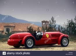 The First Ferrari Automobile Tipo 166c 1948 Stock Photo Alamy