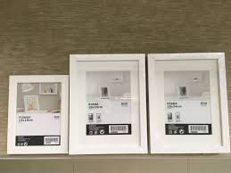ikea ribba fiskbo photo frame x 3 furniture home decor others on carou