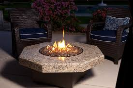 image of outdoor propane fire pit designs