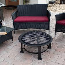 az patio heaters fire pit with round table wood burning