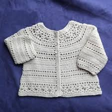 Crochet Baby Sweater Pattern Interesting Simple Crochet Baby Sweater Crochet And Knit