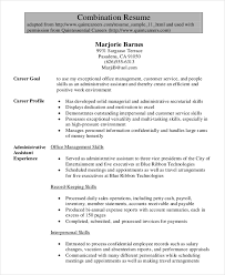 Sample Resume Legal Administrative Assistant