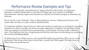 Performance Review Training For Cmes Inc Managers