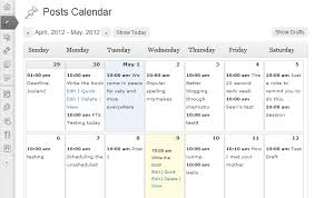 Calendars To Edit Editorial Calendar Wordpress Plugin Wordpress Org