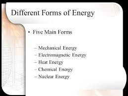 Energy Where Energy Begins Types Of Energy Forms Of Energy