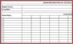 Sunday School Attendance Chart Free Printable Printable Attendance Sheet 14 Free Printable Attendance