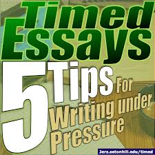 timed essays top tips for writing academic papers under  timed essays top 5 tips for writing academic papers under pressure jerz s literacy weblog