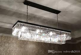 replica item industrial length 125cm 1920s odeon clear glass fringe rectangular chandelier vintage k9 re crystal llfa large chandelier chandelier candle