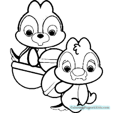 Disney Cuties Colouring Page Quotes Of The Day