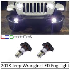 Jeep Tj Fog Light Bulb Replacement Amazon Com Ledpartsnow 2018 Jeep Wrangler Jl 5000k 5202
