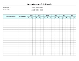 Assignment Schedule Templates Sample Examples Free School Planner