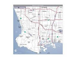 south beach cities los angeles california map  torrance ca • mappery
