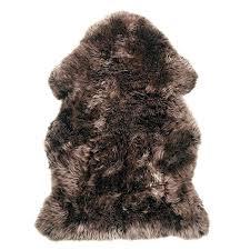 double pelt sheepskin rug grey sheepskin brown taupe rug furniture s charlotte nc