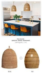 palecek lighting. Palecek Green Oaks Pendant $658 Vs Cost Plus World Market Basket Weave  Bamboo Lamp $60 Palecek Lighting