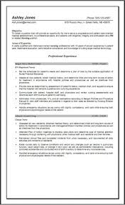 Nursing Resume Templates Free Rn Resume Template Free Fungramco 58