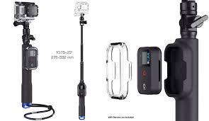 sp gadgets remote pole gopro handle
