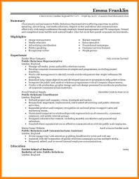 Sample Public Relations Resume It Import Specialist Cover Letter
