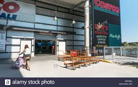 costco sign stock photos costco sign stock images alamy huge led sign at entrance to costco outlet in spanish harlem which adjoins promenade overlooking east