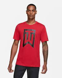 Tiger Woods Golfshirt met logo voor heren. Nike BE