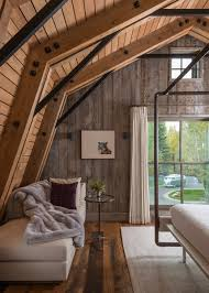 barn interior design. Rush Jenkins Of WRJ Design Created Interiors That Would Complement The Clean Lines And Rustic Materials Barn\u0027s Architecture As Seen In Bedroom Barn Interior I