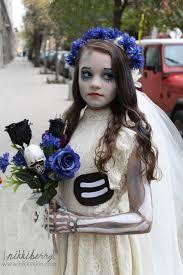 corpse bride costume makeup photo 1