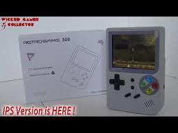 Retro Game 300 <b>IPS</b> Version is HERE !!! - YouTube