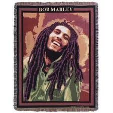 Bob Marley Throw Blanket