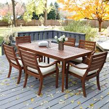 Patio dining sets on sale patio furniture sets sale outdoor furniture near me brown wooden dining table set vase flower