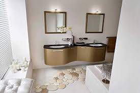 unique bath rugs with luxury bathroom vanity units and lights ideas above wall mirror for small bathroom design