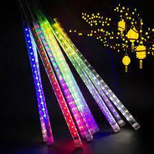 Đèn trang trí - Đèn Led Sao Băng 8 ống 50cm nhiều màu