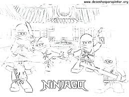 Ninjago Lego Colouring Pages Trustbanksurinamecom