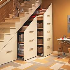 Storage & Organization: Brilliant Under Stair Storage Ideas - Storage Ideas