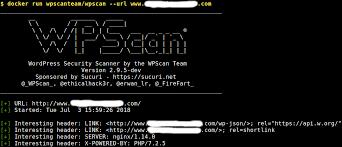 a black box wordpress vulnerability scanner