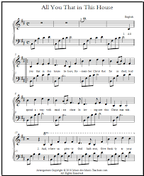 Christmas Sheet Music For Piano