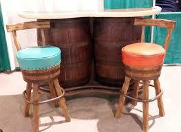 vintage whiskey barrel bar vintage barrel bar vintage mid century furniture bar