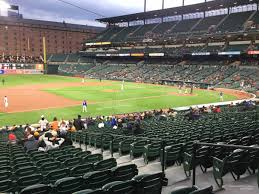 Baltimore Camden Yards Seating Chart Oriole Park Section 58 Rateyourseats Com