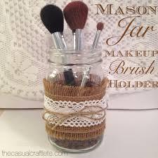 mason jar makeup brush holder. mason jar makeup brush holder g